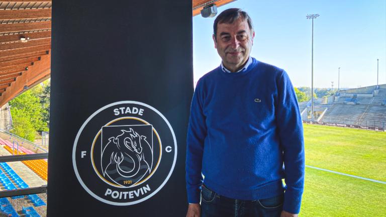 Jean-Pierre Giret président du Stade Poitevin FC