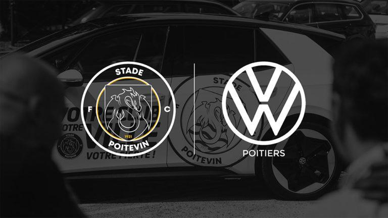 Volkswagen Poitiers s'engage aux côtés du Stade Poitevin FC