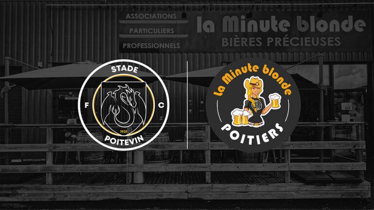 La Minute Blonde Poitiers partenaire officiel des Dragons