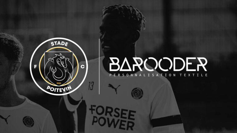BAROODER partenaire officiel du Stade Poitevin FC