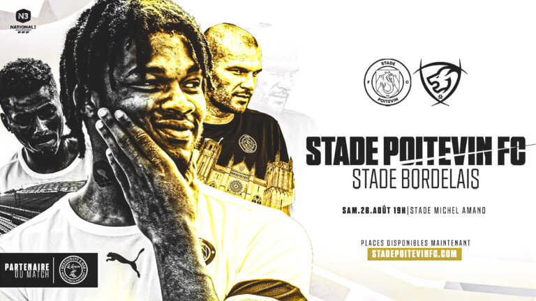 BILLETTERIE : Stade Poitevin FC-Stade Bordelais (N3.J1)
