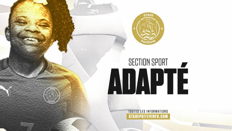 Le Stade Poitevin FC lance sa section sport adapté