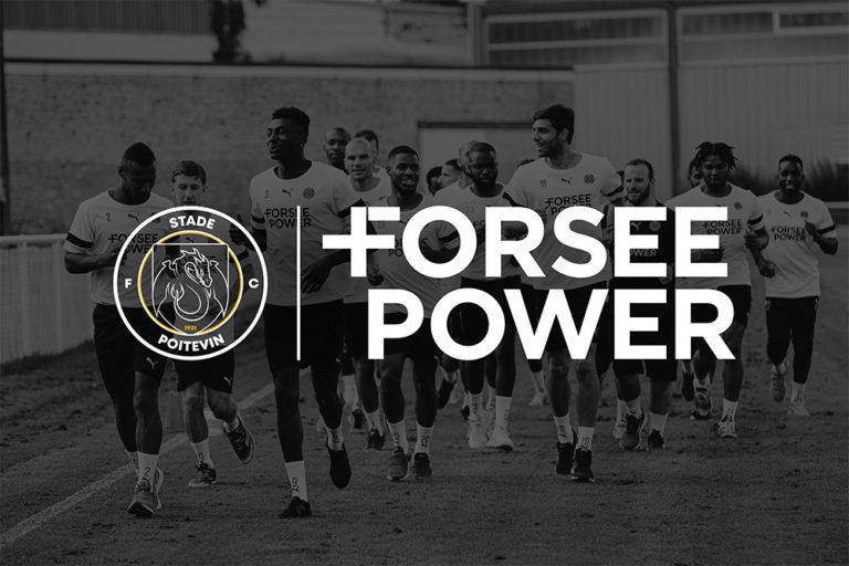 Forsee Power partenaire officiel du Stade Poitevin FC